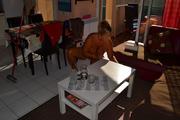 Nude housework 4