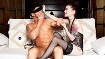 PVD S01E05 - Sexy Misha Cross seduces Mugur in a blindfolded adventure 6