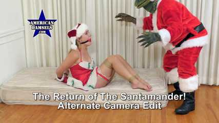The Return Of The Santamander! Alternate Camera Edit - Vika