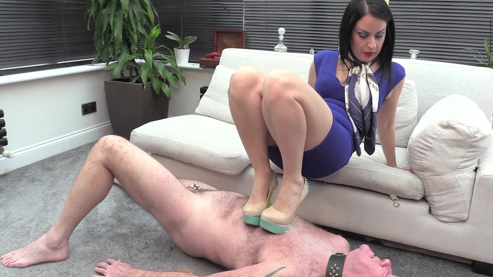 Lady Bellatrix Foot Fetish - Stiletto Trampling (HD mp4) 0