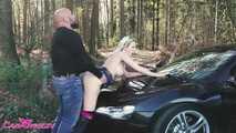 Audi R8 Test Drive & Outdoor Porn 3