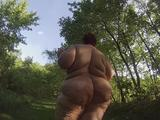 Ms. Cheeky Clean in her first videos 1
