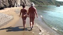 Walking Hand-in-Hand on the beach 5