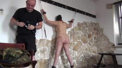 Hard session for slave Natasha