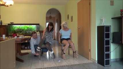 Elena and Susan - Tickling Quiz Part 6 of 6
