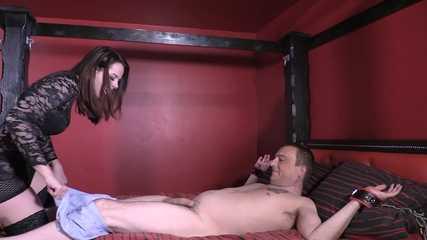 Mistress Tiffany -  Bondage Foot Smother (HD mp4)