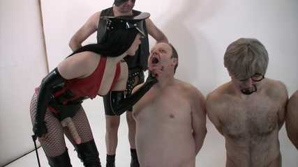 Mistress Rebekka's Butt Slut Brigade - Drill and Punishment (full) HD wmv