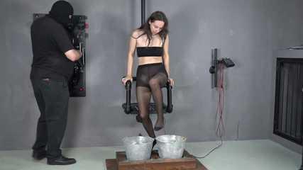 Femdom teasing bondage