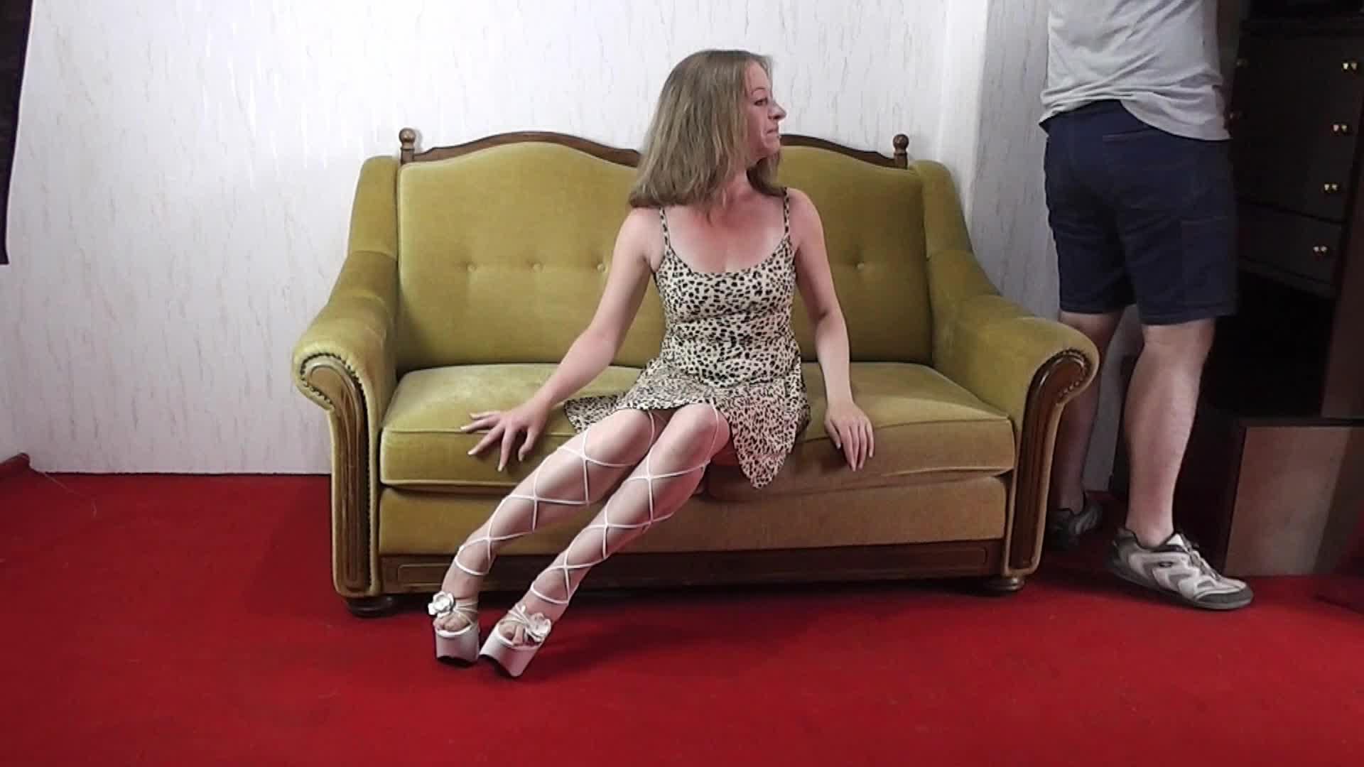 Clipspoolcom  Maria Tied With Towels 12-3662