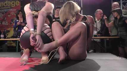 Live Escape Challenge from BoundCon XV - Jim Hunter & Gigi vs. Nova Pink & Miss Leya
