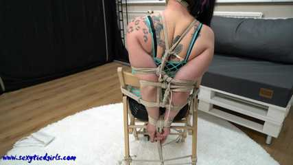 Tied up and gagged