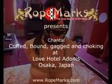 Chantal von RopeMarks, gefesselt und geknebelt im Love Hotel Adonis, Osaka, Japan 4