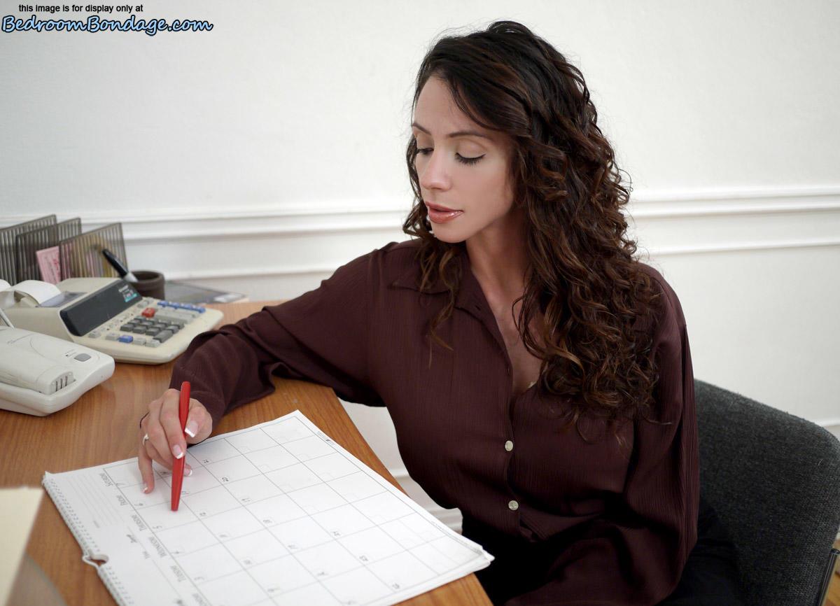 clipspool.com | Duct-Taped Secretary Ariella Ferrera