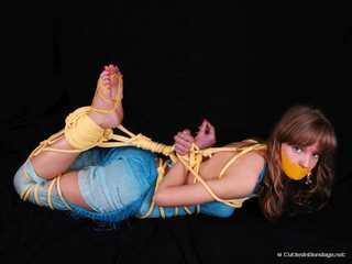 Ole Lykoile - Gorgeous model introducing a little bit of bondage
