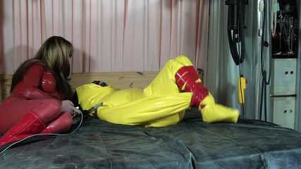 Yellow Blow Up Rubber