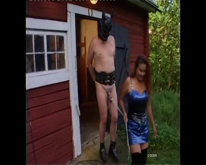German boy sell his girlfriend for money and get cuckold 4