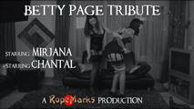 Betty Page Tribute 0