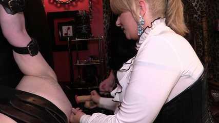 Mistress Erika's Bondage Bi - Cum Eating Slut (HD wmv)