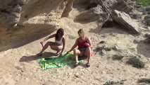 Dildo-Spiel in den Dünen 6