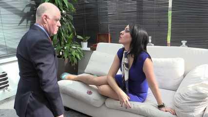 Lady Bellatrix  Subby Hubby - Shoe Licking Cuckold (HD wmv)