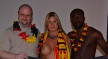 Chris and some soccer-fans 9