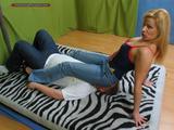 Miss LadyShot: jeansfacesitting 4