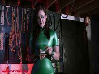 Mistress Vivienne l'Amour Human Ashtray POV - HD Film