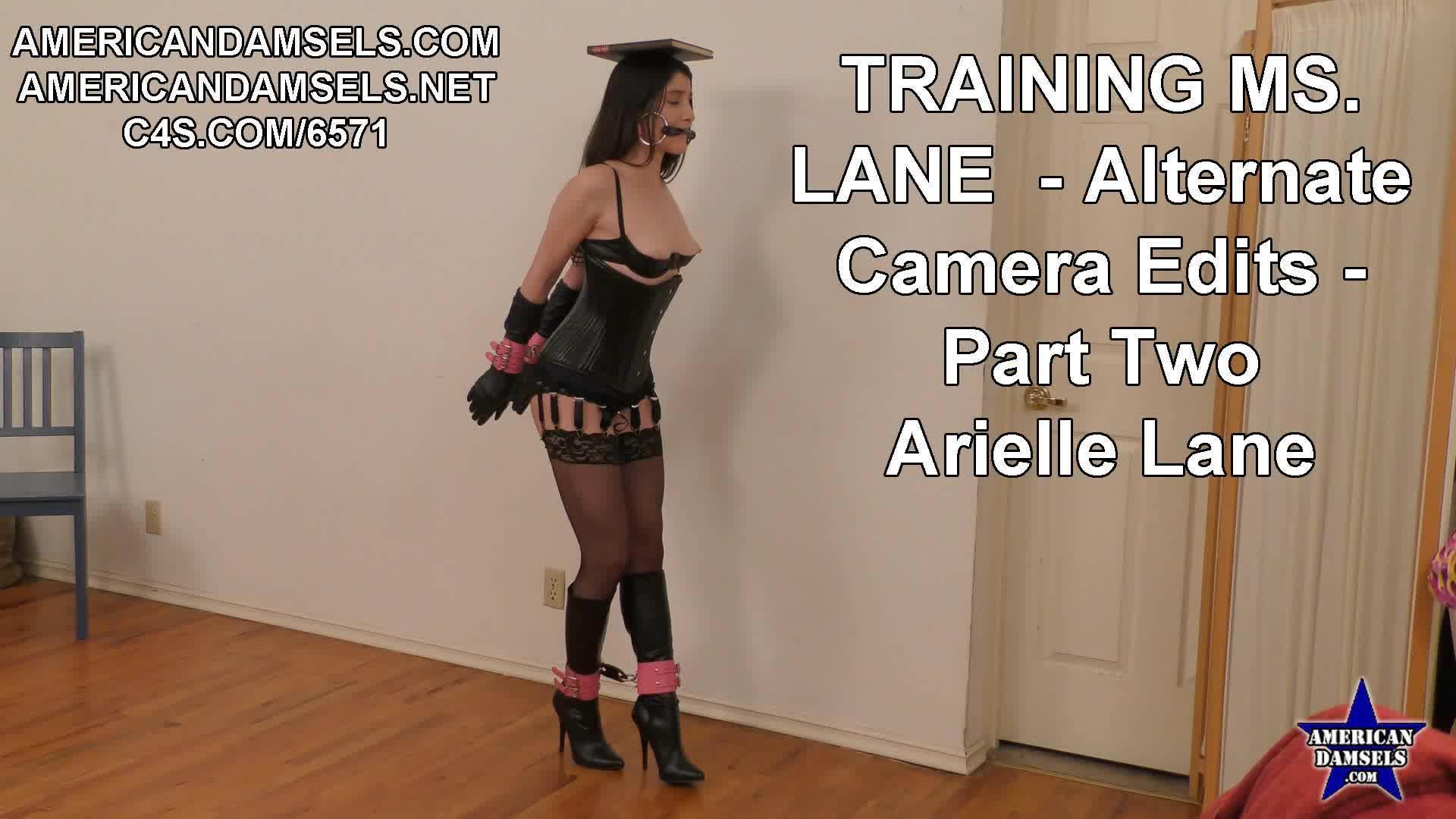 American Damsels Network | Training Ms. Lane - Alternate ...