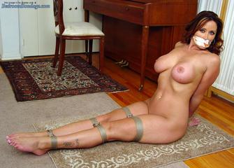 Nude in Bondage Christina Carter - also Uniform Bondage