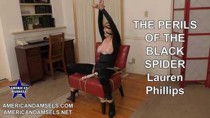 The Perils Of The Black Spider - Lauren Phillips