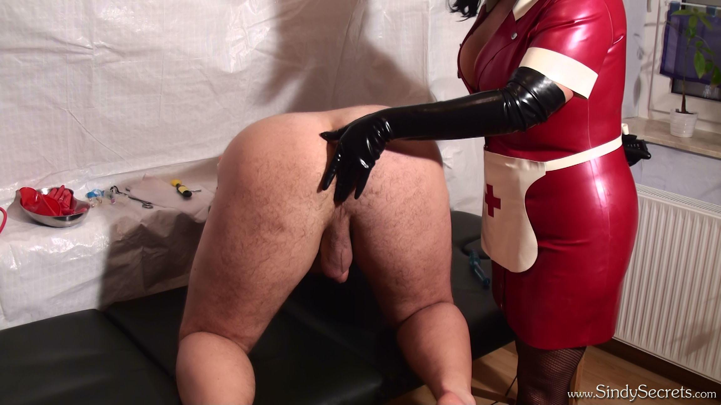 Nurse In Latex Gloves Gives A Handjob - Nurse Nicole -2964