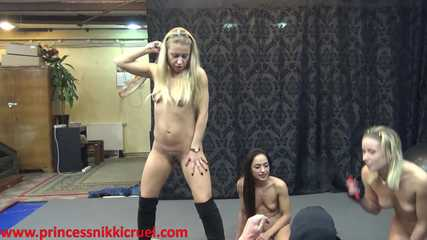 Nikki, Mini, Nomi Whipping 03