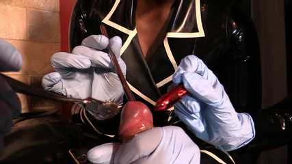 Lady Bellatrix, Mistress Tiffany, Mistress Ava - Sounding  Sensory Overload (HD wmv)