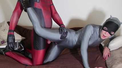 Catwoman Zentai prisoner of Nylon