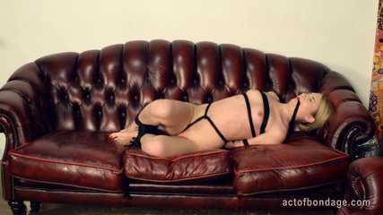 Nice naked Kate suffering in bondage