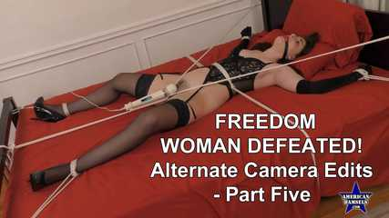Freedom Woman Defeated! - Alternate Camera Edits - Part Five - Luci Lovett