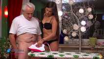 Holly's Cum On Ironing Board Handjob 4