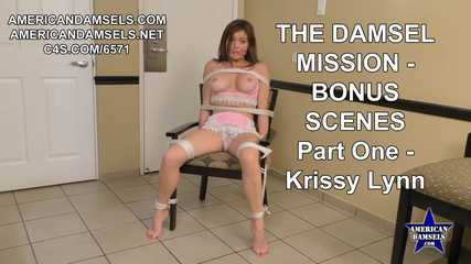 The Damsel Mission - Bonus Scenes - Part One - Krissy Lynn