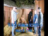 Bukkake in the barn 4