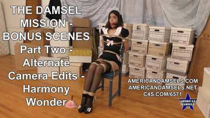 The Damsel Mission - Bonus Scenes - Alternate Camera Edits - Part Two - Harmony Wonder