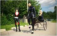 Lez Dom Entertainment - Rubber Doll Boarding School 2