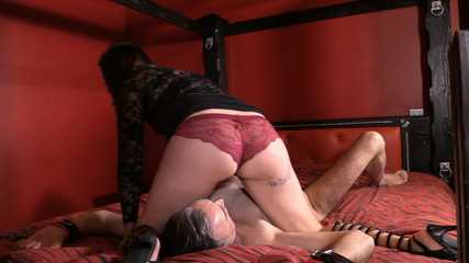 Mistress Tiffany -  Butt Smothered Cuckold (HD wmv)
