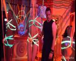 Blacklight installation @ Wasteland 20 year anniversary - video 2