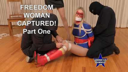 Freedom Woman Captured! - Part One - Riley Reyes - Agatha Delicious