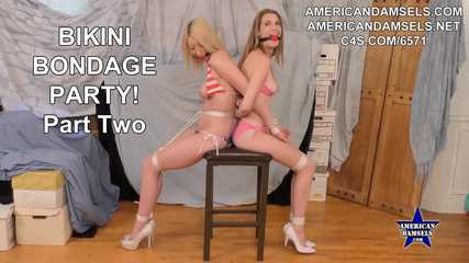 Bikini Bondage Party! - Part Two - Gia Love - Ashley Lane
