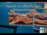 Nackt im öffentlichen Schwimmbad -Teil 4- 4