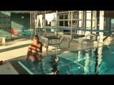 Nude in the public-pool -4- 5