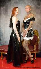 French Maid Francine dominated by Lady Nadja