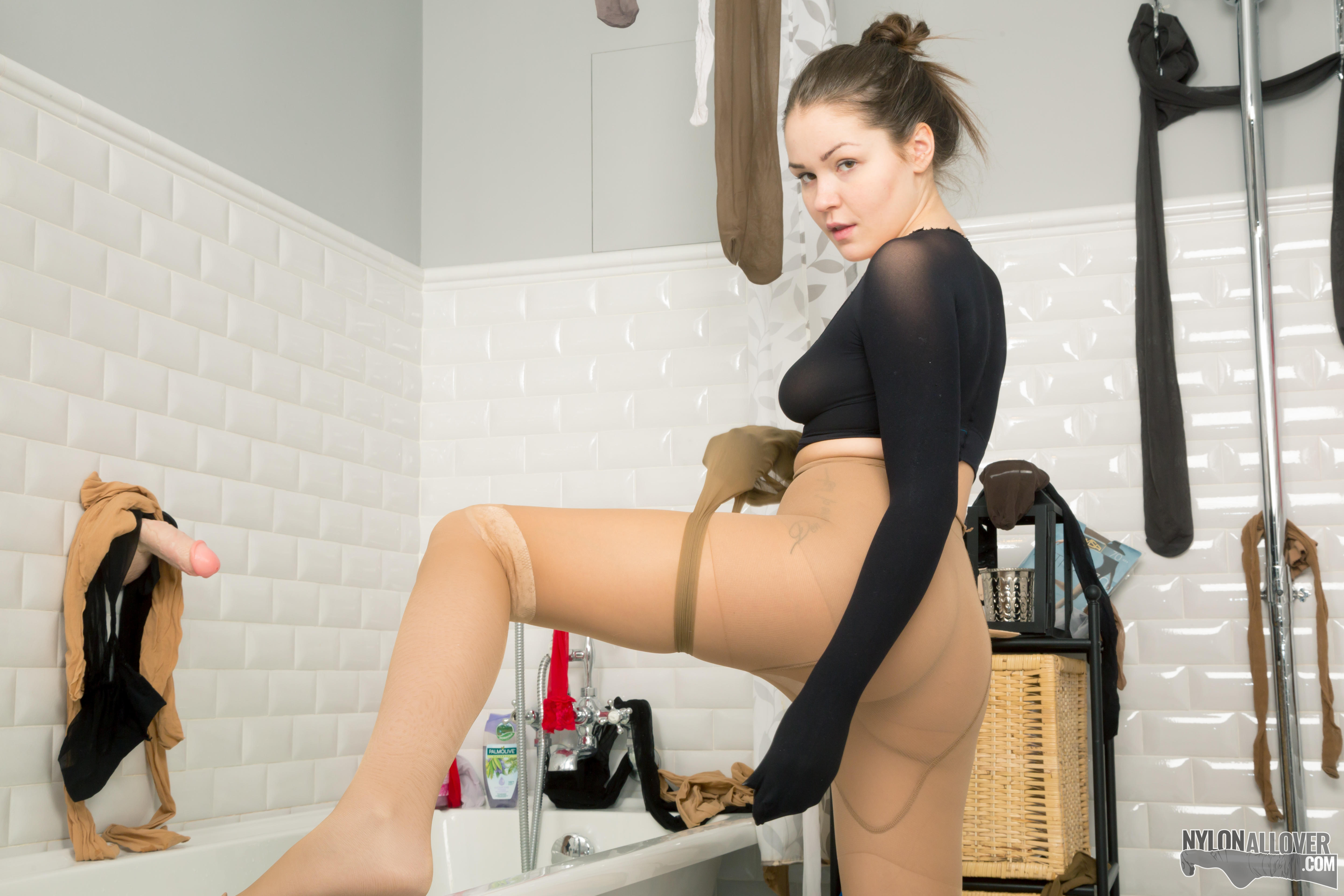Excellent Fun with pantyhose agree