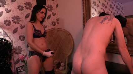 Lady Bellatrix's Man Cunt Pegging (Part 1) HD wmv